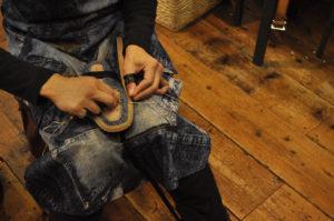 手作り靴教室・靴工房 ストレートチップ