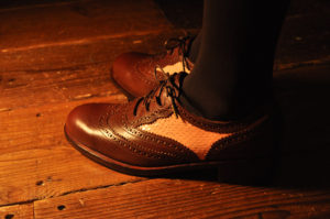 手作り靴教室・靴工房(東京)ギリーシューズ