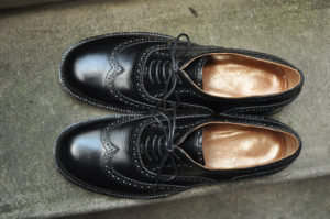 手作り靴教室・靴工房(東京)クウォーターブローグ