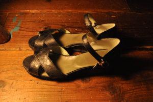 手作り靴教室・靴工房(東京)クロスサンダル