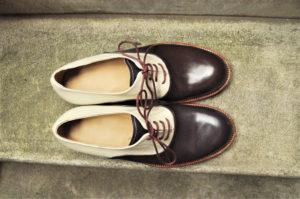 手作り靴教室・靴工房(東京)コンビの内羽根