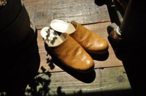 手作り靴教室・靴工房(東京)サボサンダル