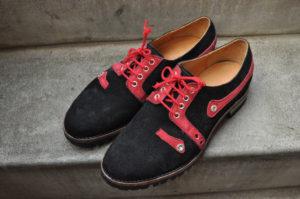 手作り靴教室・靴工房(東京)シルバー飾りのダービー