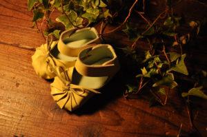 手作り靴教室・靴工房(東京)ジャバラのベビーシューズ