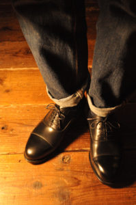 手作り靴教室・靴工房(東京)ストレートチップ