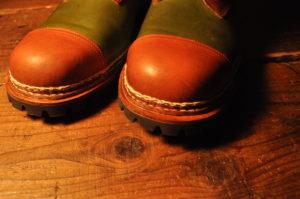 手作り靴教室・靴工房(東京)ノルベジェーゼ製法の編み上げブーツ