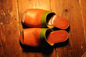 手作り靴教室・靴工房(東京)バケッタレザーサンダル