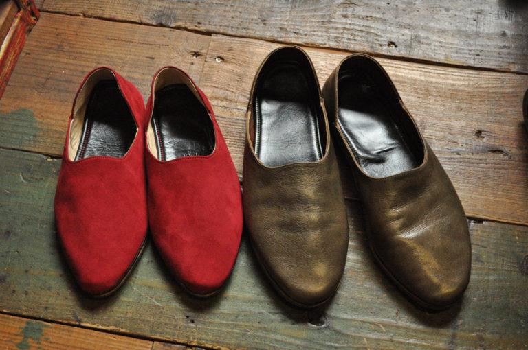 手作り靴教室・靴工房(東京)バブーシュサンダル
