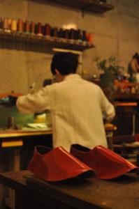 手作り靴教室・靴工房(東京)バブーシュワークショップ