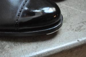 手作り靴教室・靴工房(東京)パンチドキャップトゥ