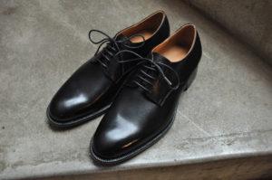 手作り靴教室・靴工房(東京)プレーントゥ・ダービー