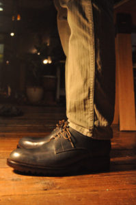 手作り靴教室・靴工房(東京)プレーントゥ