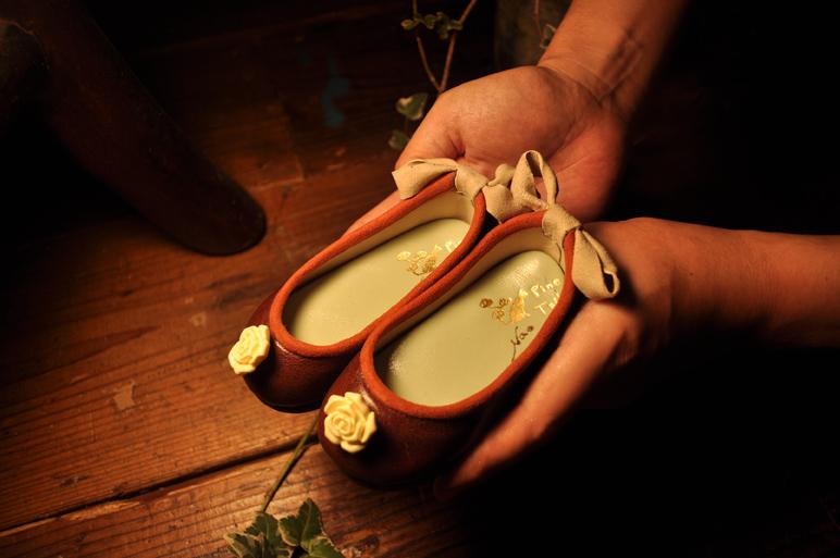 手作り靴教室・靴工房(東京)ベビーシューズパンプス