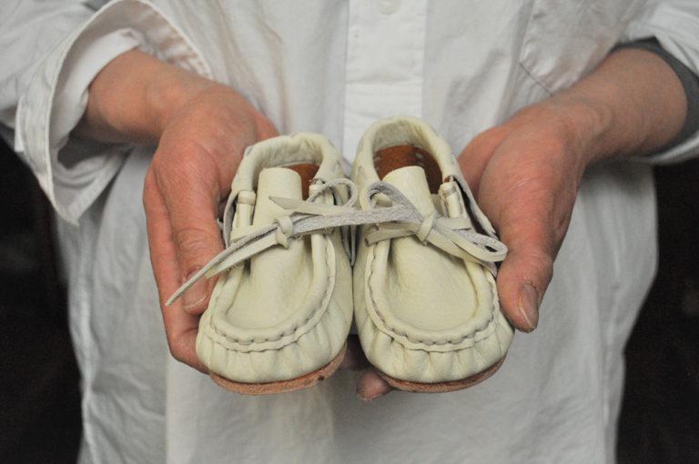 手作り靴教室・靴工房(東京)ベビーシューズワークショップ