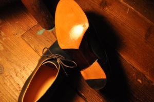 手作り靴教室・靴工房(東京)ベベルドウェストのプレーントゥ