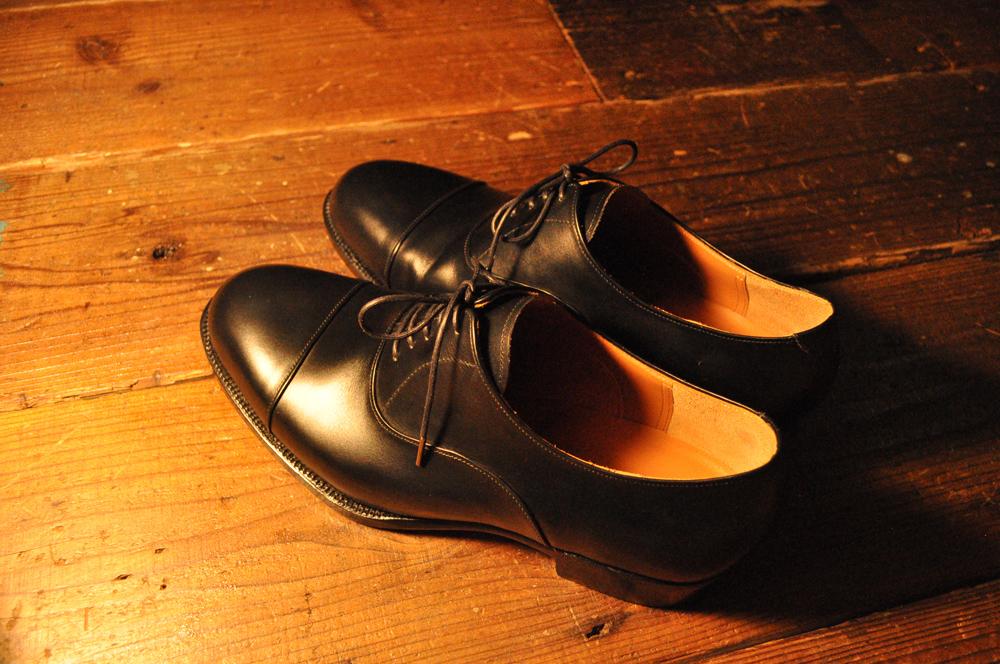 手作り靴教室・靴工房(東京)ワインハイムのストレートチップ