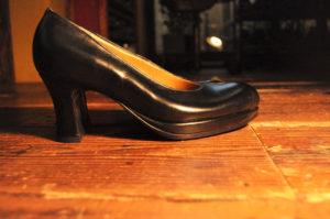 手作り靴教室・靴工房(東京)7センチプラットフォームパンプス