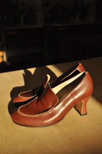 手作り靴教室・靴工房(東京)6センチヒールのスリッポン