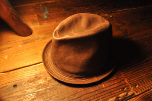 手作り靴教室・靴工房(東京) レザーハット帽子