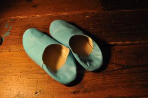 手作り靴教室・靴工房(東京-基礎練習バブーシュ