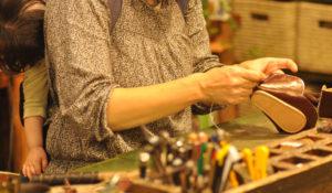手作り靴教室・靴工房-ベビーシューズワークショップ
