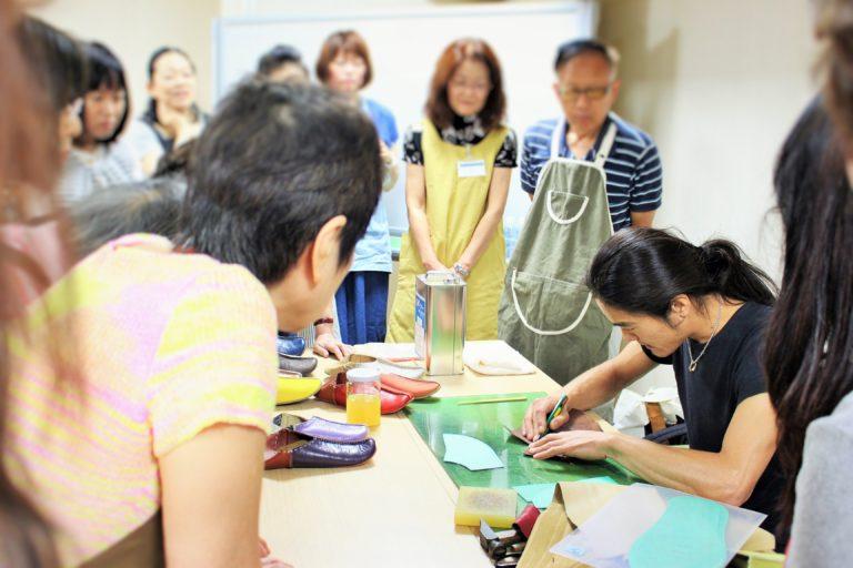 手作り靴教室・靴工房(東京) バブーシュワークショップ