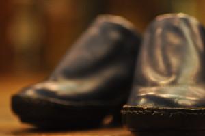靴 手縫い