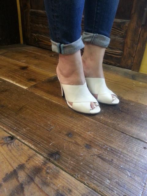 手作り靴教室・靴工房 レザーヒールサンダル