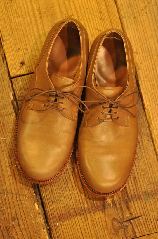 手作り靴教室・靴工房 外羽根・ダービー ハンドソーンウェルテッド