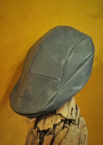 レザーハンチング帽
