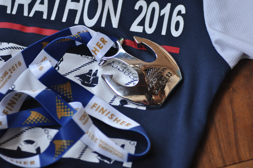 手作り靴教室・靴工房 フルマラソン完走