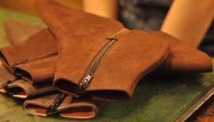 手作り靴教室・靴工房 8センチヒール ショートブーツ