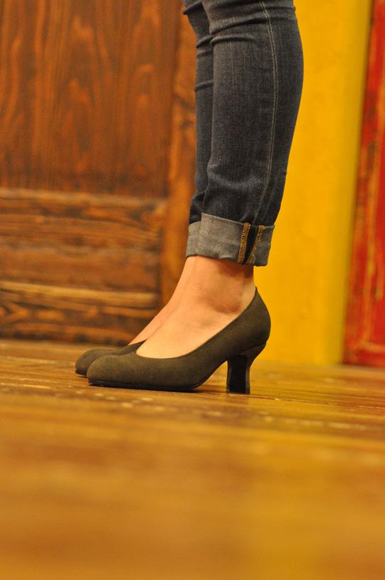 手作り靴教室・靴工房 6センチヒールパンプス