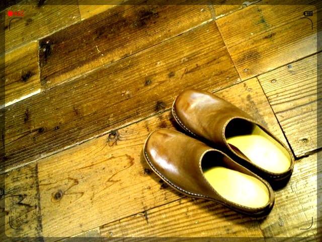 手作り靴教室・靴工房 レザーサンダル 手縫いステッチダウン