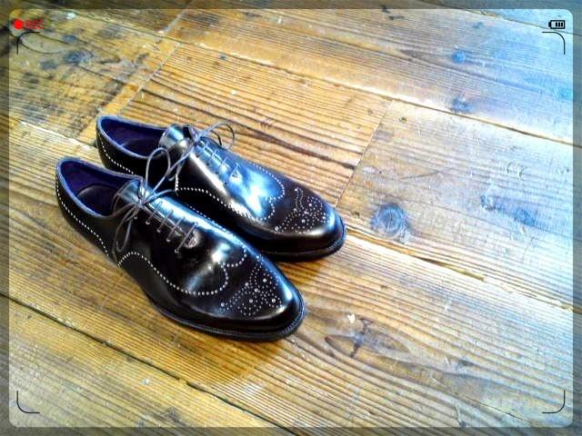 手作り靴教室・靴工房 ホールカット ワンピース ハンドソーンウェルテッド