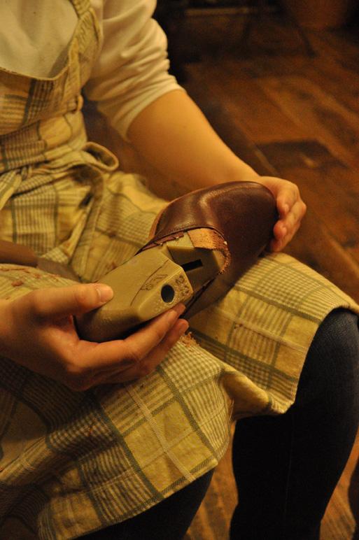 手作り靴教室・靴工房(東京) サボサンダル