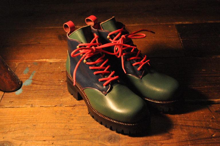 手作り靴教室・靴工房(東京)編み上げブーツ
