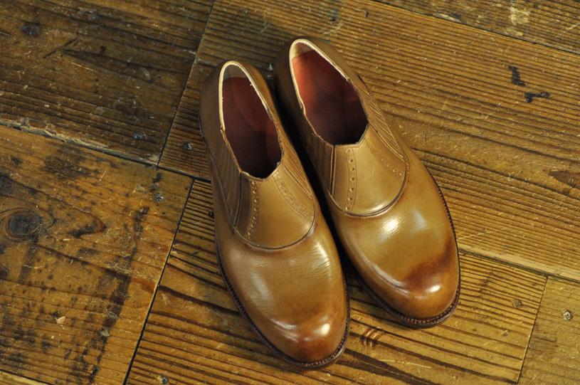 手作り靴教室・靴工房 サイドエラスティック ハンドソーンウェルテッド