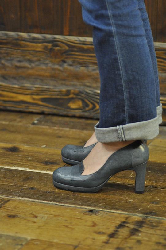 手作り靴教室・靴工房 ハイヒールローファー
