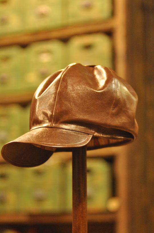 手作り靴教室・靴工房 レザーハット帽子・革の帽子