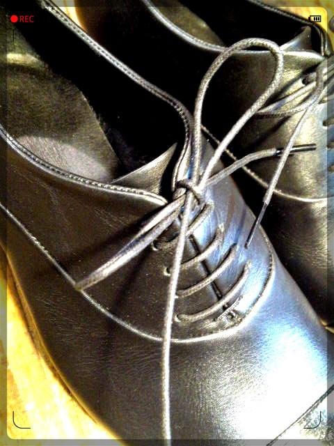 手作り靴教室・靴工房 内羽根ストレートチップ