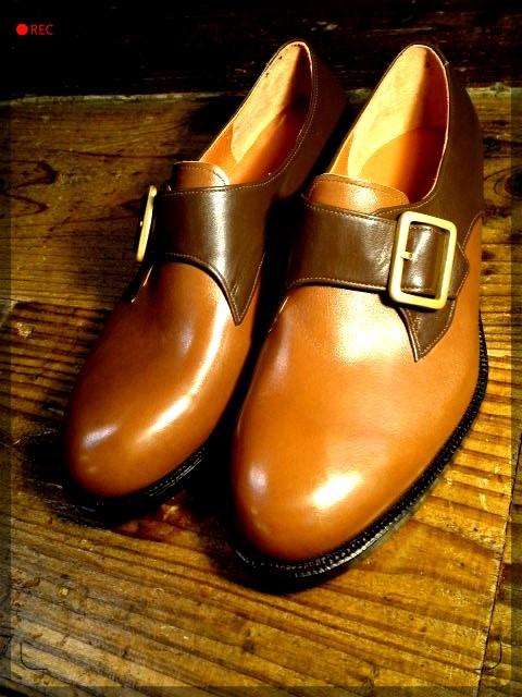 手作り靴教室・靴工房 モンクストラップ  ハンドソーンウェルテッド
