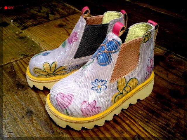 手作り靴教室・靴工房 キッズサイドゴアブーツ